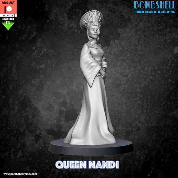Queen Nandi - Digital STL Download