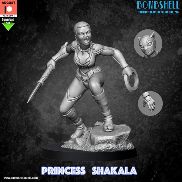 Princess Shakala - Digital STL Download