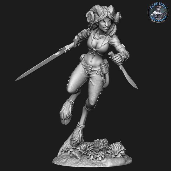 Khai the Huntress - Digital STL Download