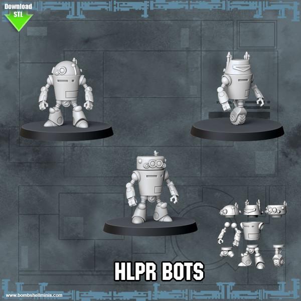 HLpR and WhLR Bots - Digital STL Download