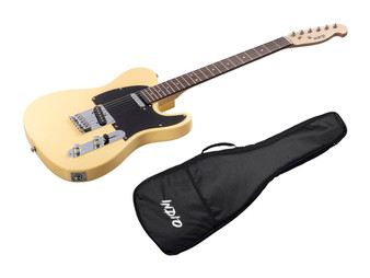 Retro Classic Electric Guitar with Gig Bag Blonde