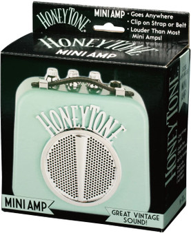 Honeytone Mini Guitar Amp Aqua