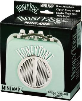Honeytone Mini Guitar Amp Aqua