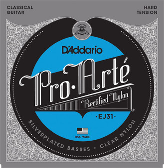 Hard Tension Classics Rectified Nylon Classical Guitar Strings
