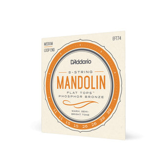 11-39 Medium Mandolin Flat Top Phosphor Bronze Strings