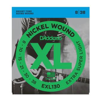 EXL130 Nickel Wound, Extra-Super Light, 08-38