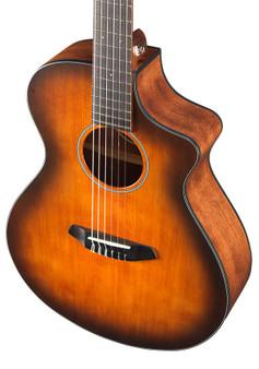Discovery CE Series Guitars Engelmann Spruce - Mahogany Concert CE (Cutout/Electric) Satin Bourbon