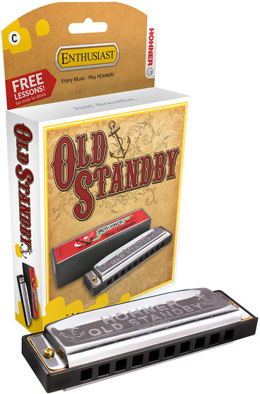 Hohner Old Standby Harmonica  E