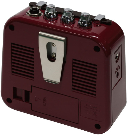 Honeytone Mini Guitar Amp Burgundy