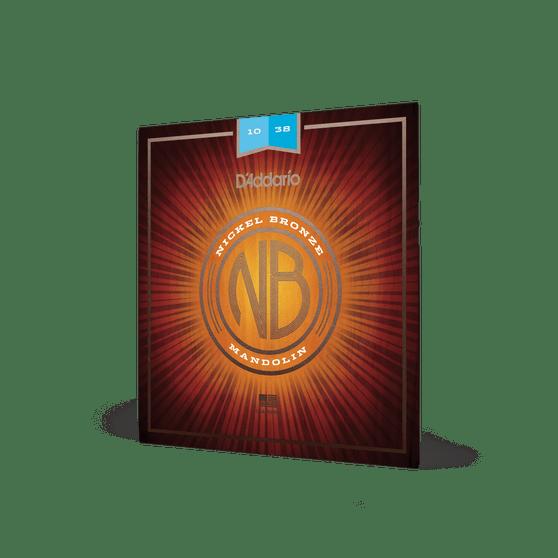 10-38 Light Nickel Bronze Mandolin Strings
