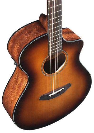 Discovery CE Series Guitars Sitka Spruce - Mahogany Concert CE (Cutout/Electric) Sunburst CC190201434