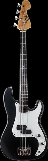 PRECISION ELECTRIC BASS GUITARCOLOR BLACK