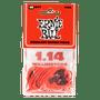 1.14MM RED EVERLAST PICKS 12-PACK