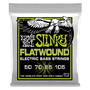 REGULAR SLINKY FLATWOUND ELECTRIC BASS STRINGS - 50-105 GAUGE