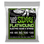 REGULAR SLINKY 5-STRING FLATWOUND ELECTRIC BASS STRINGS - 45-130 GAUGE