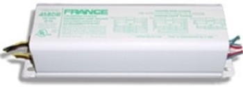 France 458-KR  277v Fluorescent Ballast - 2-4 Lamp 12ft-20ft