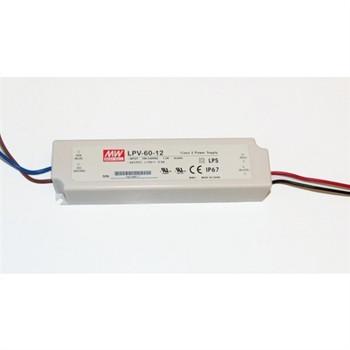 Meanwell LPV-60-12 LED Power Supply 12V-60W
