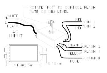 Ventex VT DF01 Neon Transformer Accessory