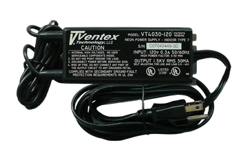 Ventex VT4030-120 Neon Transformer Power Supply   100v-4000v  30mA