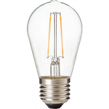 ZLight LED Filament ST14 Bulb - Clear - Day Light - 50K