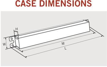 Keystone sign ballast case dimensions