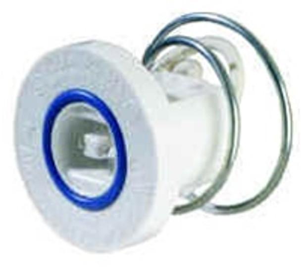 583GDF Fluorescent  Sockets - Spring - Flush Lampholder