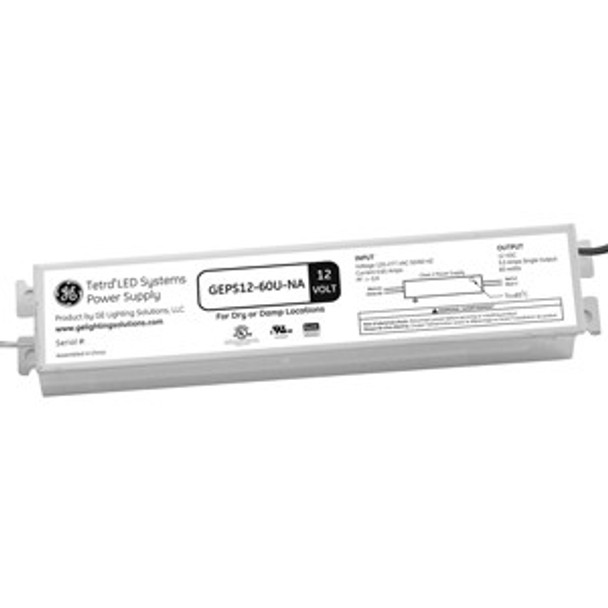 GEPS12-60U-NA Tetra LED 12VDC/60W Power Supply