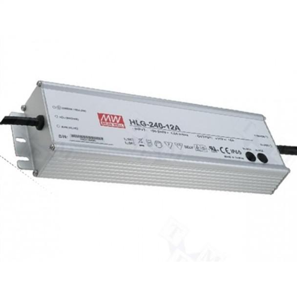 Meanwell HLG-240H-12A LED Power Supply 12V-192W