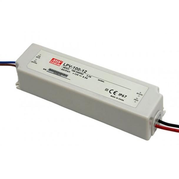 Meanwell LPV-100-12 LED Power Supply 12V-100W