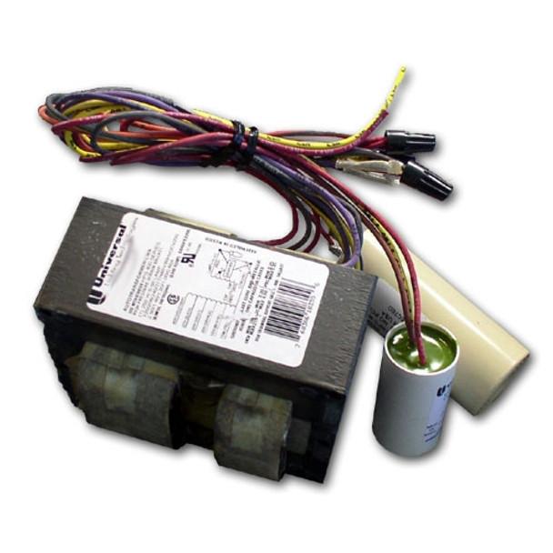 Universal P320MLTAC4M500K 320W Metal Halide Ballast Pulse Start Quad-Tap