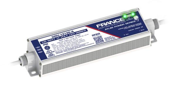 France DRV-12120-A 12v 2 x 60W LED Power Supply