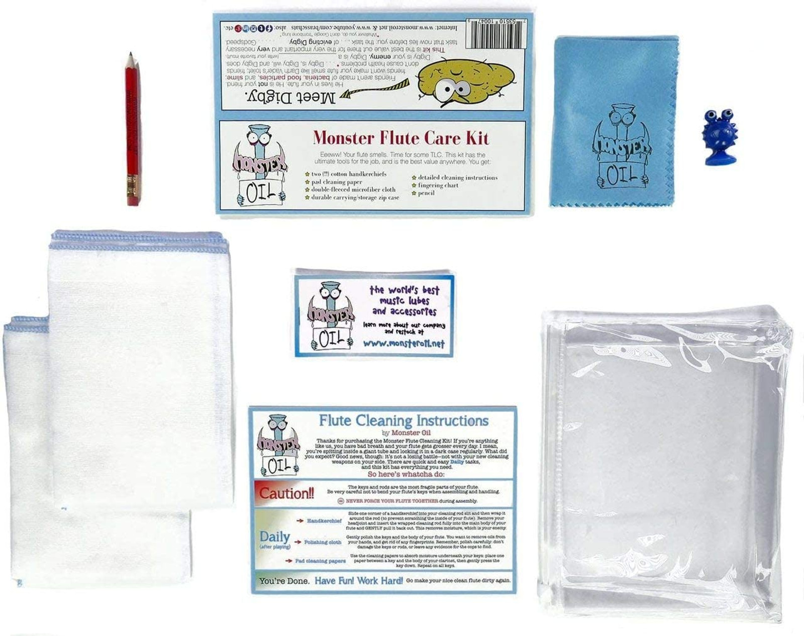 Flute Care and Cleaning Kit