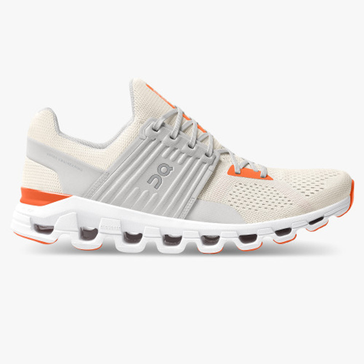 ON RUNNING CLOUDSWIFT 2.0 - WHITE/FLAME