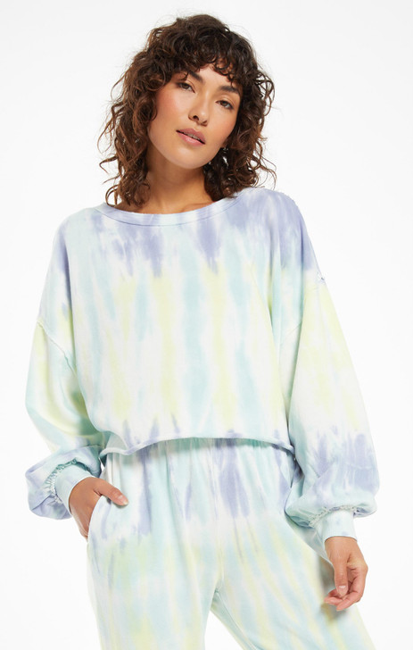 Z-SUPPLY TEMPEST TIE DYE PULLOVER