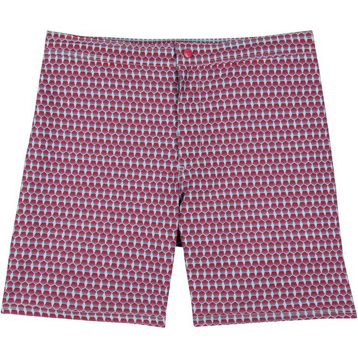 GENTEAL RED ILLUSION PERFORMACE SWIM TRUNK