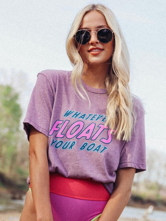 CHARLIE SOUTHERN WHATEVER FLOATS TEE