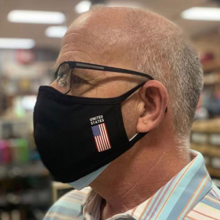 USA BLACK MASK