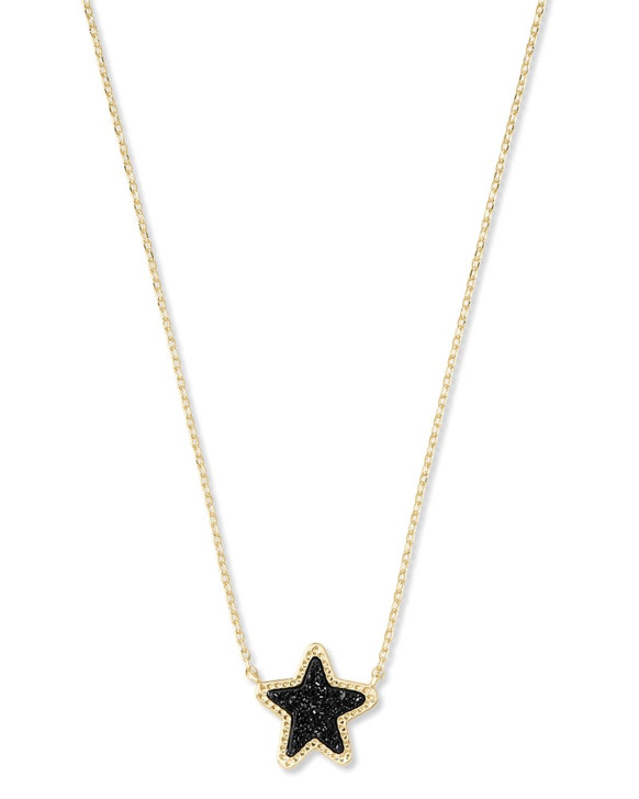 KENDRA SCOTT JAE STAR DRUSY PENDANT NECKLACE