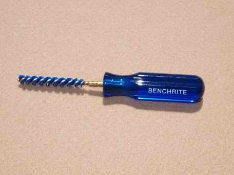 Benchrite Case Neck Brush Handle with Neck Brush