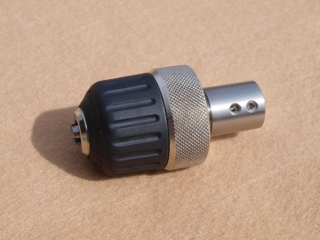 Combination Chuck/Spindle for Case Turning Lathe