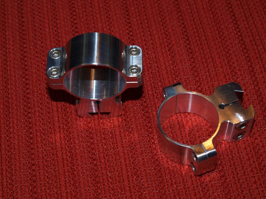 Four Screw Standard Scope Rings