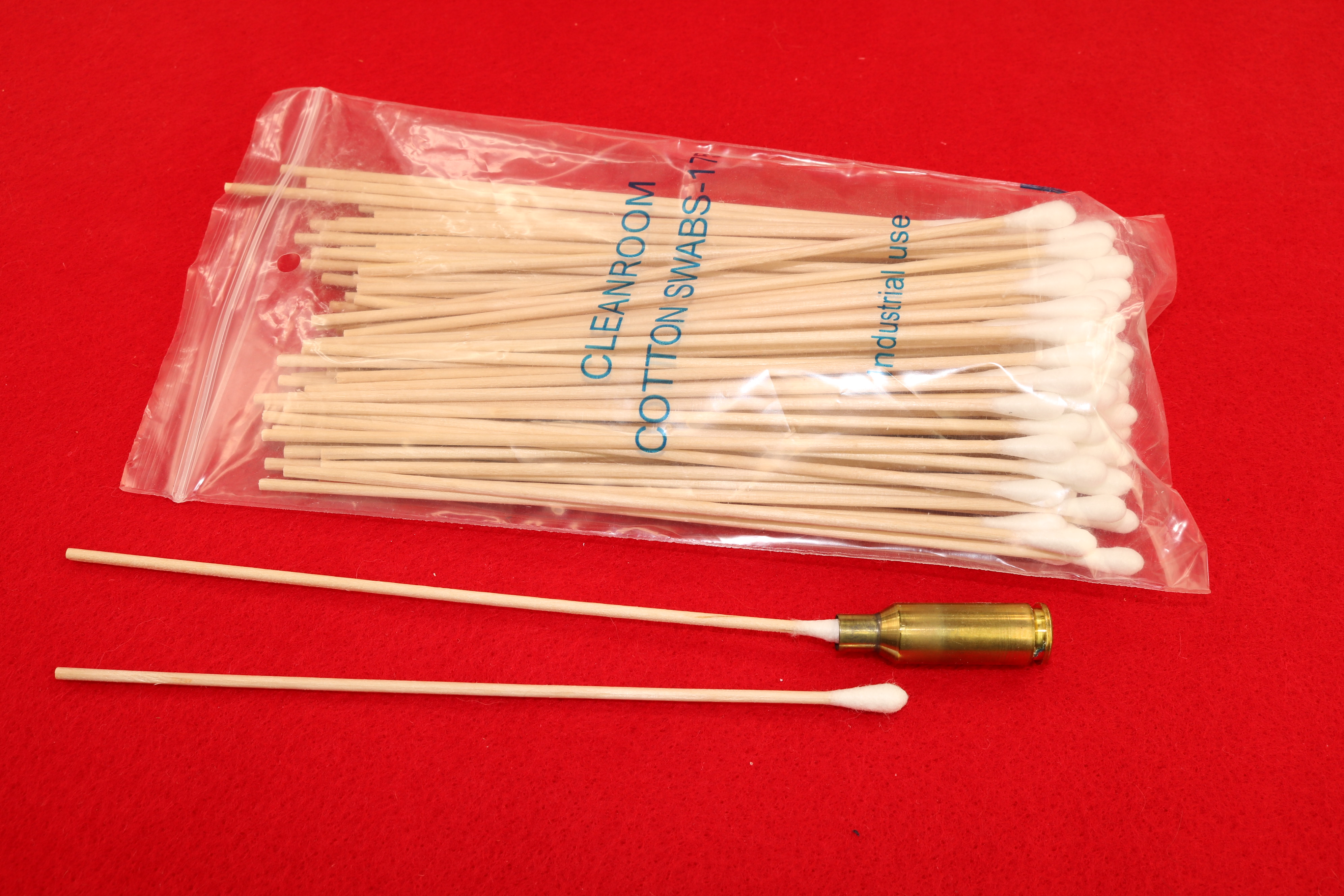 6-inch Wooden Stick Swabs (100-pack)