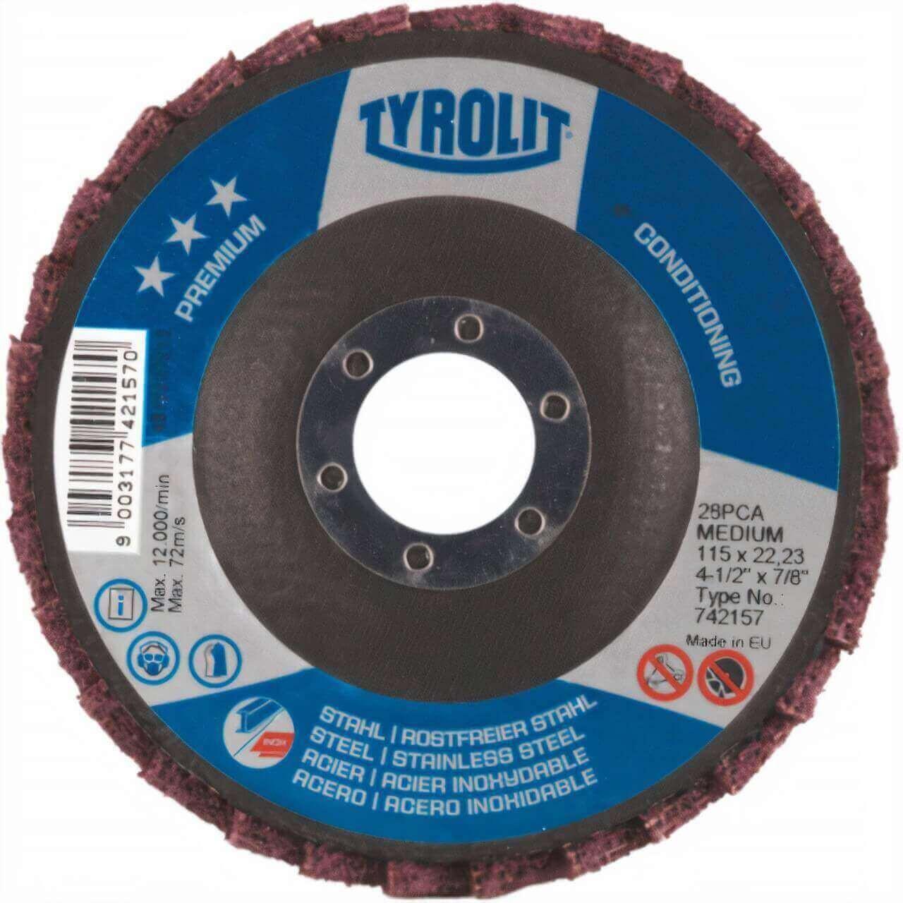 Tyrolit 125x22 120g SCM Combi Premium Flap Disc
