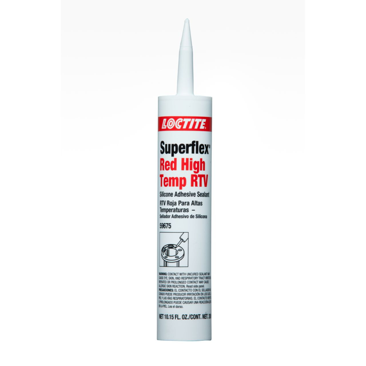Loctite Superflex Red High Temp RTV Silicone 300ml Tube