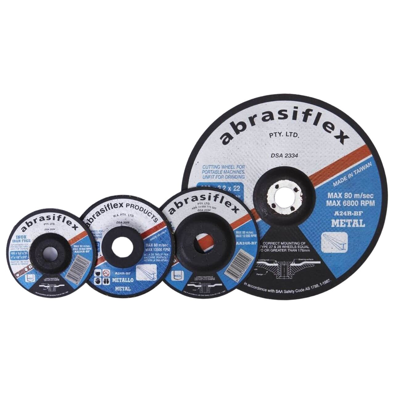 Abrasiflex AA24R 125x3.2x22 I/Free DC Cutting Disc