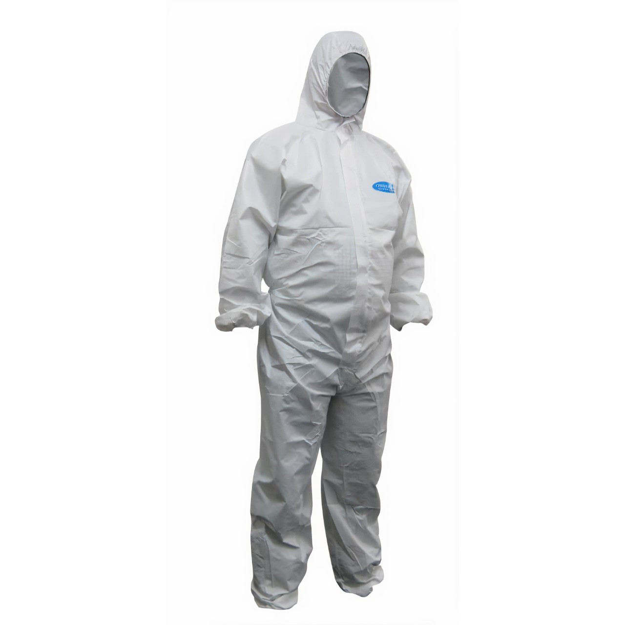 Chemguard T5/6 White SMS Disposable Coveralls L