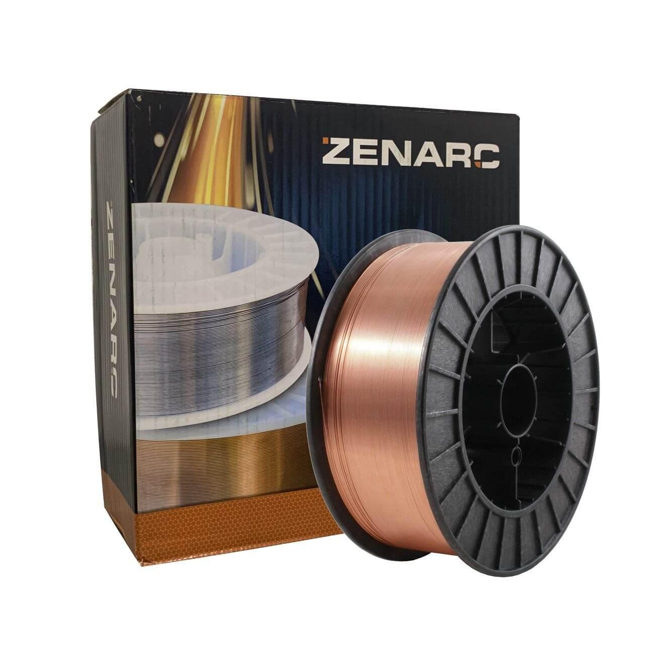 0.9mm Zenarc S6 Mild Steel Mig Wire 15kg
