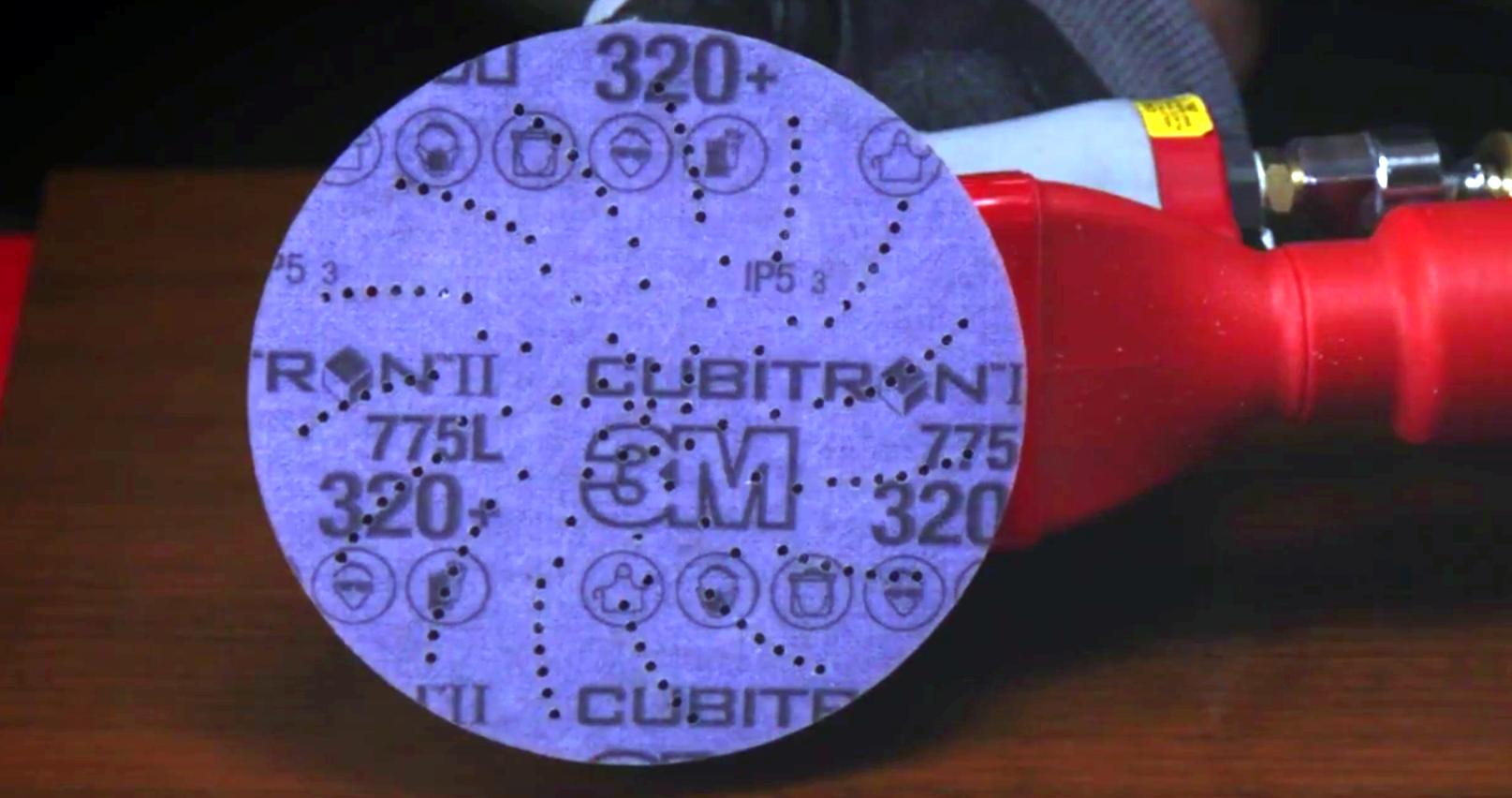 How to scuff prime using 3M sanding discs!