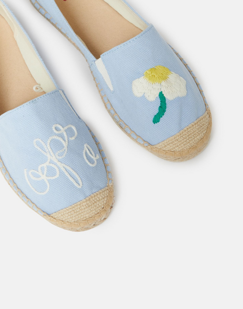 Oops-a-daisy Embroidered Espadrille