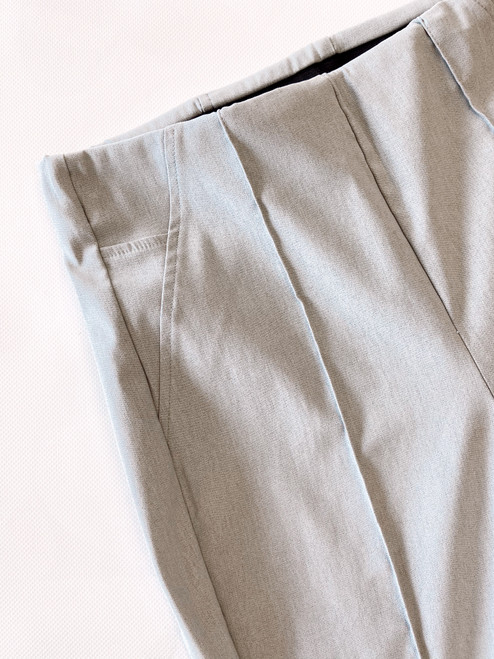 Women's grey cigarette pant, women's grey slacks